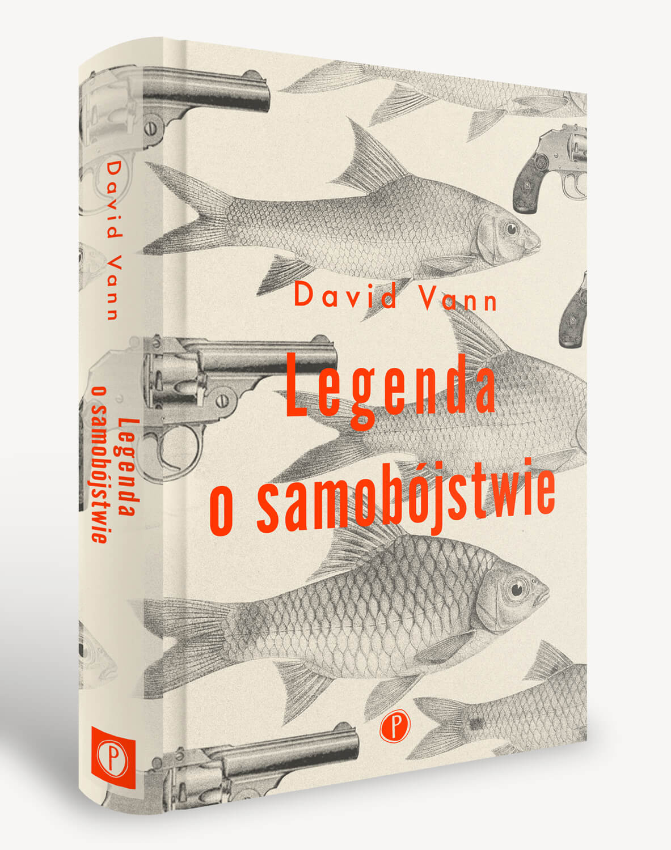 Okładka książki David Vann Legenda o samobójstwie