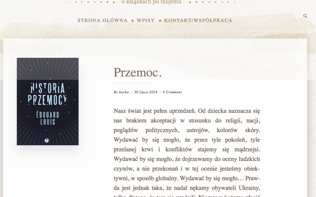 Literacka Kavka o Historii przemocy
