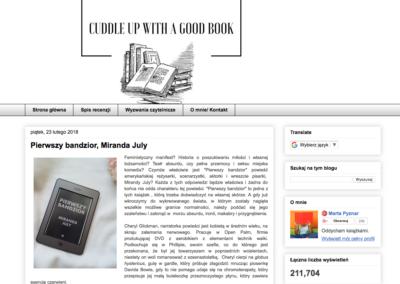 Cuddle up with a good book o Pierwszym bandziorze