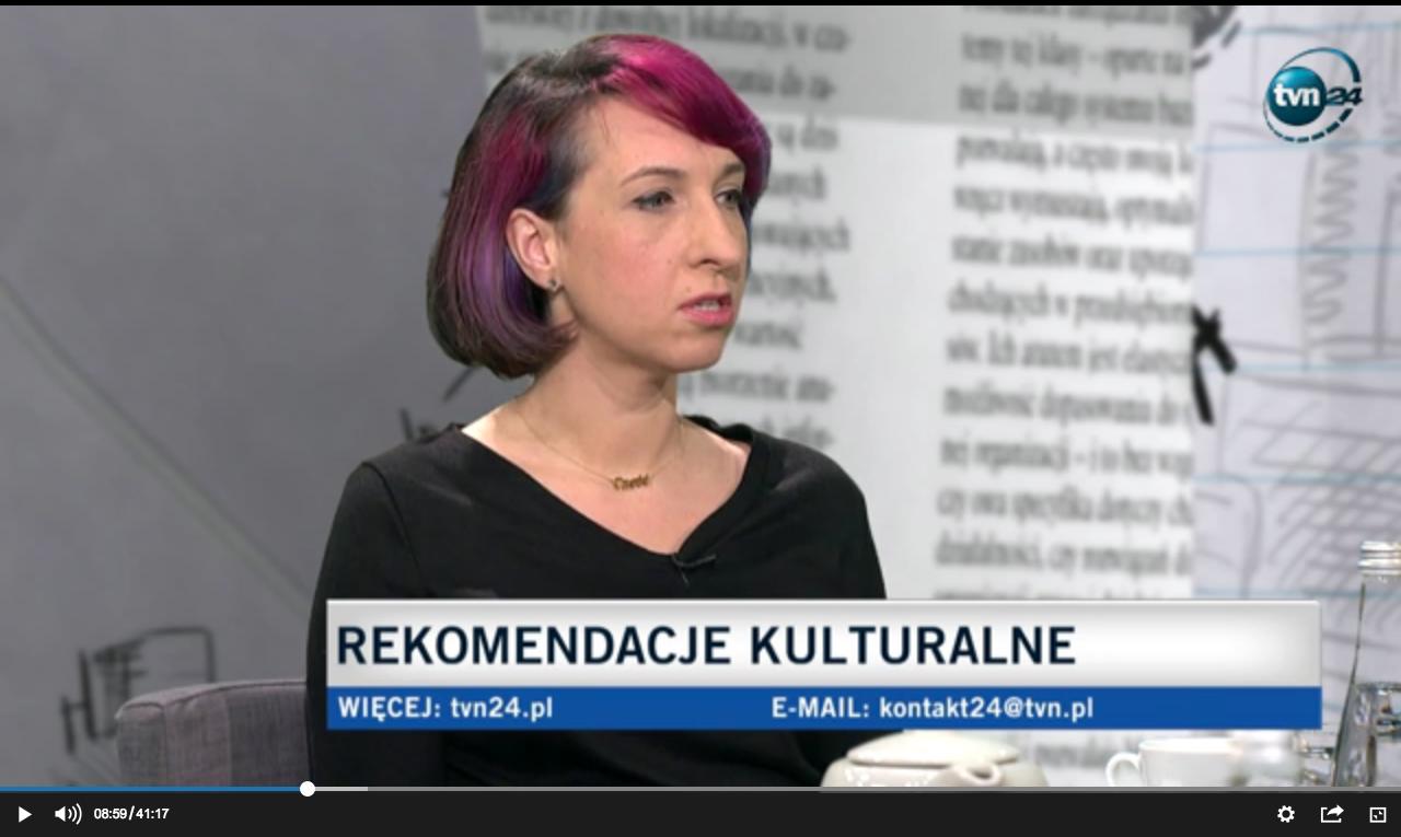 Sylwia Chutnik o Pierwszym bandziorze