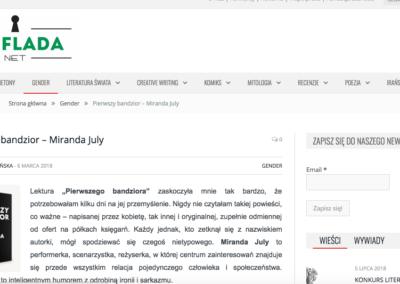 Szuflada.net o Pierwszym bandziorze