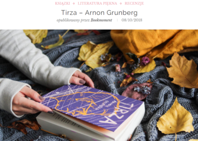 Bookmoment o Tirzie