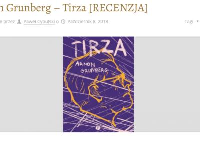 Przy muzyce o książkach o Tirzie