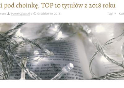 Przy muzyce o książkach TOP 2018