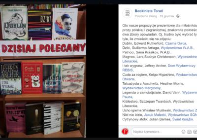 księgarnia Bookinista Toruń poleca