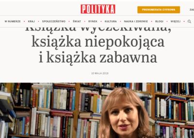 "Justyna Sobolewska o ""Floryda"""