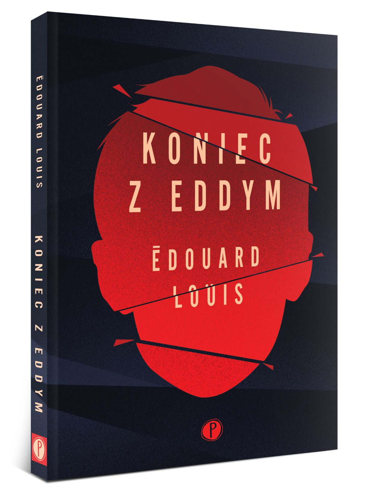 """Recenzje #123 - """"Koniec z Eddym"""" - okładka książki pt.""""Koniec z Eddym"""" - Francuski przy kawie"""