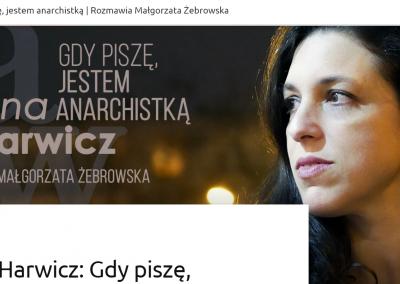 """Zupełnie inna opowieść – wywiad z Arianą Harwicz o """"Zgiń, kochanie"""""""