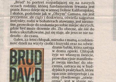 """Rzeczpospolita o powieści """"Brud"""""""