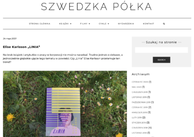 "Szwedzka Półka o ""Linia"""