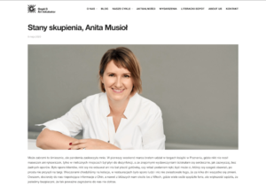 Stany skupienia Anita Musiol – Goyki 3 Art Inkubator 1