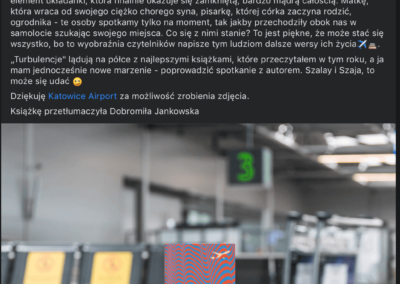 "smakksiążki.pl o ""Turbulencje"""