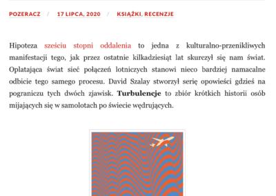 """Qbuś Pożera Książki o """"Turbulencje"""""""