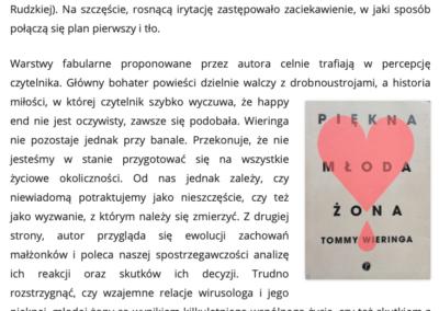 CzytanieToPrzygoda.pl o Piękna młoda żona