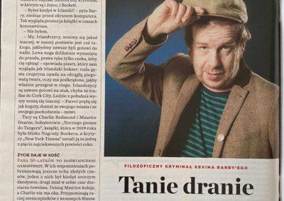 """Newsweek – rozmowa z Kevinem Barrym o """"Nocny prom do Tangeru"""""""