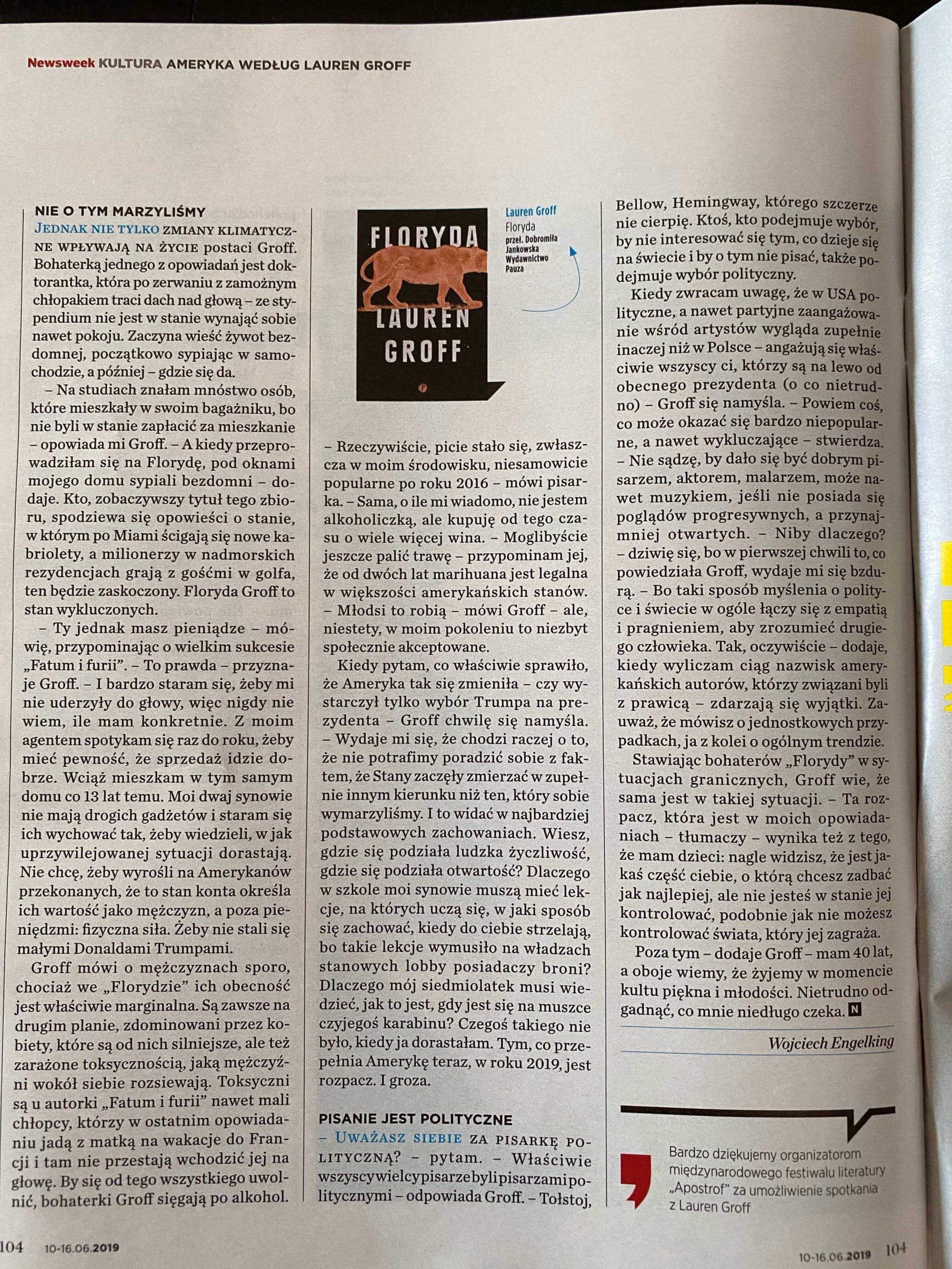 newsweek 24_2019 floryda cz. 3-2-2-2