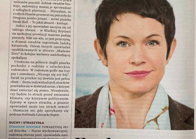 """Newsweek o """"Madame Zero i inne opowiadania"""""""