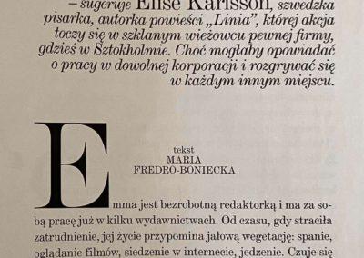 """Vogue Polska o """"Linia"""""""