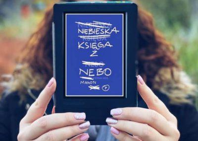 """@zgrubszao o powieści """"Niebieska Księga z Nebo"""""""