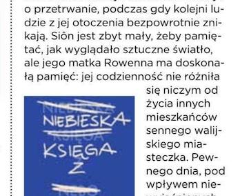 """Gala o powieści """"Niebieska Księga z Nebo"""""""