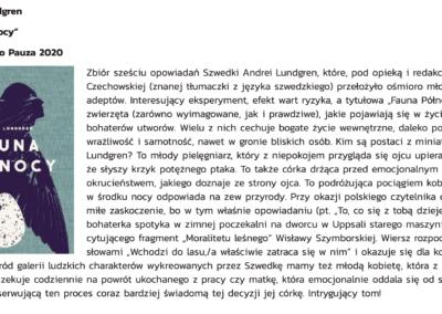 """Wolna Droga o """"Fauna Północy"""""""