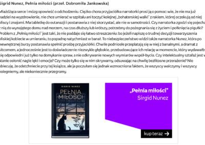 """""""Pełnia miłości"""" w rankingu Empiku """"Najlepsze książki 2020: literatura zagraniczna"""""""