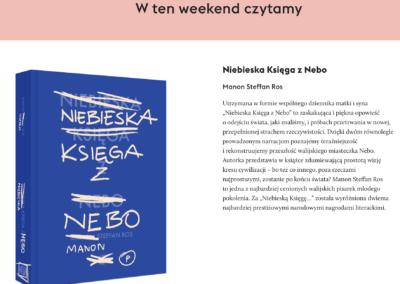 """KUKBUK o powieści """"Niebieska Księga z Nebo"""""""
