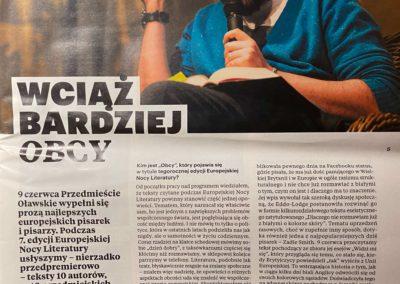 """Wrocławski Niezbędnik Kulturalny o """"Historia przemocy"""""""