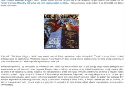 """EkoEksperymenty o powieści """"Niebieska Księga z Nebo"""""""