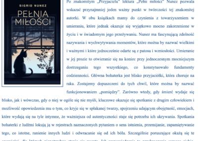 """Blog Bernadetty Darskiej o powieści """"Pełnia miłości"""""""