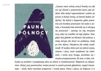 """Czytaj od lewej o """"Fauna Północy"""""""