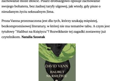"""Gazeta Wyborcza o """"Halibut na Księżycu"""""""
