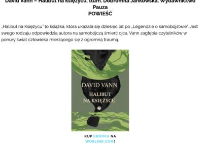 """""""Halibut na Księżycu"""" na liście najbardziej wyczekiwanych książek 2021 roku według Czytaj PL"""