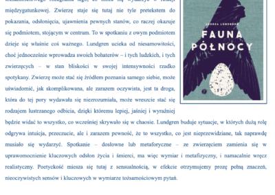"""Blog Bernadetty Darskiej o """"Fauna Północy"""""""