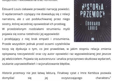 """CzytanieToPrzygoda.pl o """"Historia przemocy"""""""