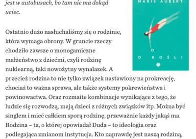 """Krytyka Polityczna o """"Dorośli"""""""