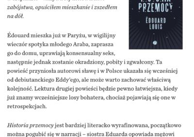 """Krytyka Polityczna o """"Historia przemocy"""""""