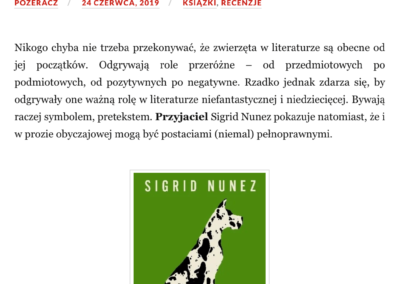 """Qbuś Pożera Książki o """"Przyjaciel"""""""