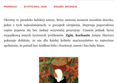 """Qbuś Pożera Książki o """"Zgiń, kochanie"""""""