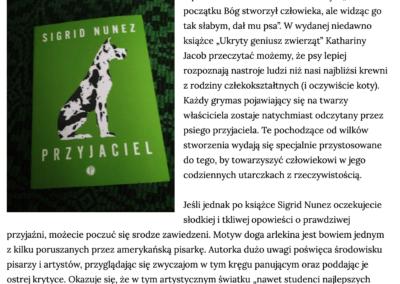 """Piknik na skraju książki o """"Przyjaciel"""""""