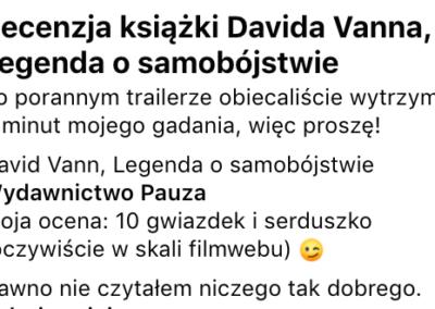 """Jan Godlewski o """"Legenda o samobójstwie"""" – wideorecenzja"""