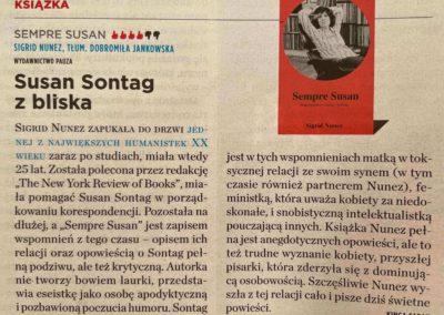 "Newsweek o ""Sempre Susan"""