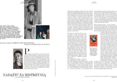 """Vogue Polska o """"Sempre Susan"""""""