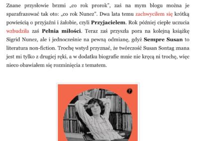 """Qbuś Pożera Książki o """"Sempre Susan"""""""