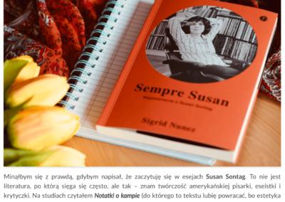 """Nowalijki o """"Sempre Susan"""""""
