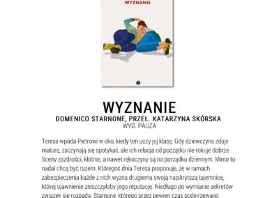 """Wysokie Obcasy Extra o """"Wyznanie"""""""