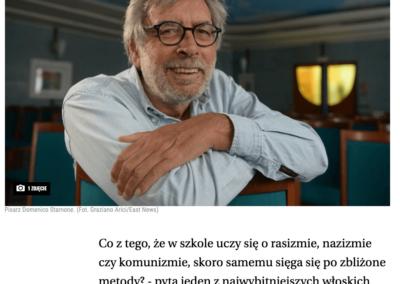 """Wyborcza o """"Wyznanie"""" – wywiad z Domenico Starnone, autorem książki"""